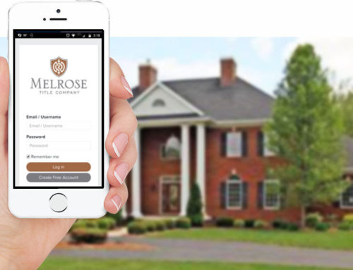 Melrose Title Company Upgrades Free Title App